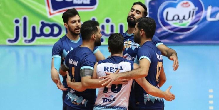 لیگ برتر والیبال| شهرداری قزوین با آرمات روی نوار شکست/ ورامینیها بردند