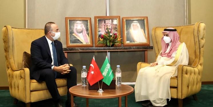 دیدار وزیران خارجه ترکیه و عربستان سعودی