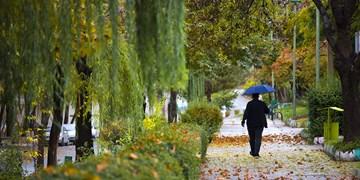 طبیعت پاییزی شهر سنندج