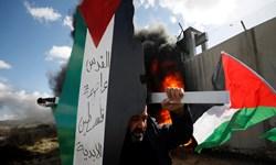 آسیب دیدن دهها نفر در حمله نظامیان اشغالگر به راهپیمایی فلسطینیان