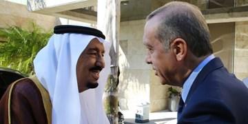 شاه سعودی و دریافت مشاوره برای بهبود روابط با ترکیه بعد از انتخابات آمریکا