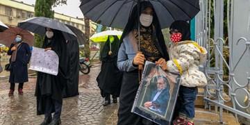 تجمع اعتراضی در محکومیت ترور دانشمند هستهای شهید «محسن فخریزاده»