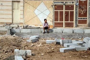 اردوی جهادی در کوی طاهر اهواز