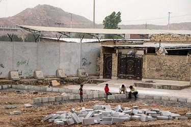این اردو با مشارکت  شهرداری اهواز در حال انجام است .