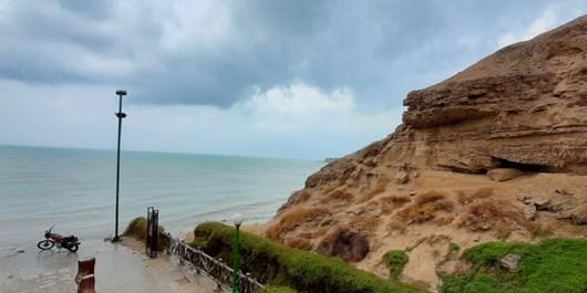 طبیعت ساحل ریشهر بوشهر