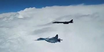 تقابل «سوخو-27» روسیه با هواپیمای «آرسی-135 » نیروی هوایی آمریکا در بالتیک