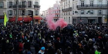 درگیری میان پلیس فرانسه و معترضان