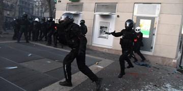 ۳۷ پلیس فرانسوی در جریان اعتراضات روز شنبه مجروح شدند