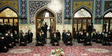 مراسم بزرگداشت دانشمند شهید «محسن فخری زاده» در حرم رضوی برگزار شد + تصاویر