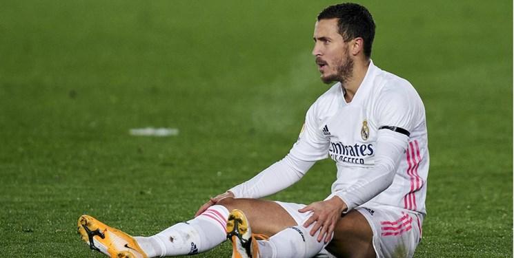 مارکا: ادن ازارد را از ترکیب اصلی رئال مادرید خط بزنید