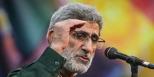 سردار قاآنی: نیروی قدس سپاه، الگو و شاخص مجاهدان و علاقمندان فرهنگ مقاومت است