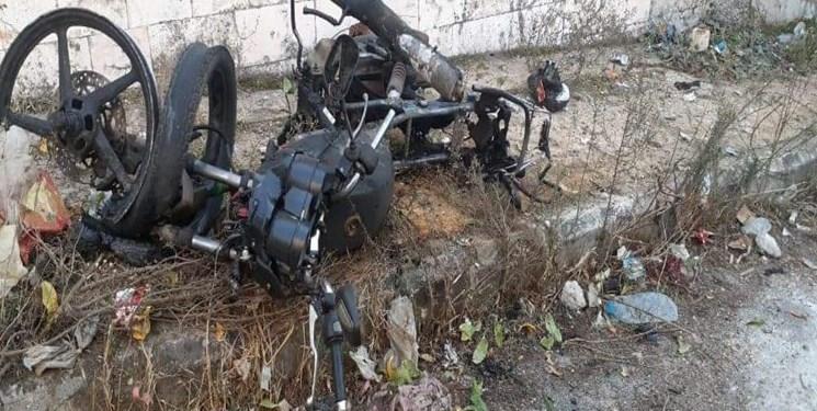 انفجار موتورسیکلت بمبگذاری شده در مناطق تحت اشغال ترکیه در شمال سوریه