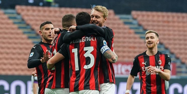 جام حذفی ایتالیا  میلان در ضربات پنالتی  تورینو را شکست داد