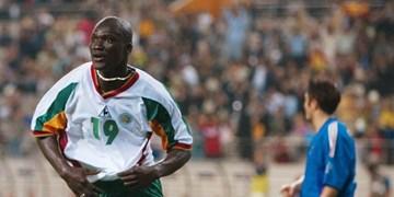 ستاره سنگالی گلزن جام جهانی در 42 سالگی درگذشت+عکس