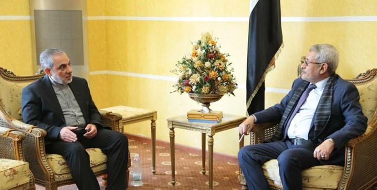 دیدار سفیر ایران با وزیر آموزش عالی یمن