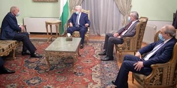 دیدار «محمود عباس» با وزیر خارجه مصر و دبیرکل اتحادیه عرب