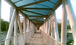 13  پل عابر پیاده جدید در قم نصب میشود