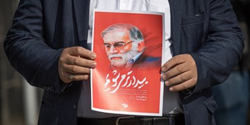 تجمع دانشجویان در محکومیت ترور شهید محسن فخریزاده در البرز