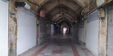 فیلم| بازگشایی بازار اراک پس از پایان محدودیت های کرونایی