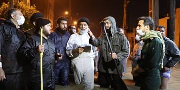 فیلم|بازدید شبانه نماینده ولی فقیه از مناطق به زیرآب رفته بندرامام