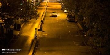 شناسایی پلاکهای مخدوش در طرح محدودیت شبانه قزوین