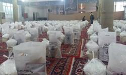 توزیع کمکهای مؤمنانه مرکز نیکوکاری امام رضا(ع) در دهدشت