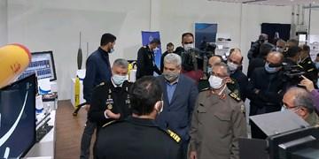 نمایشگاه دستاوردهای تحقیقاتی و صنعتی نداجا افتتاح شد