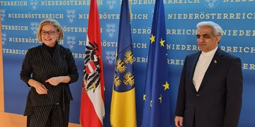 سفر سفیر ایران به سنت پولتن اتریش