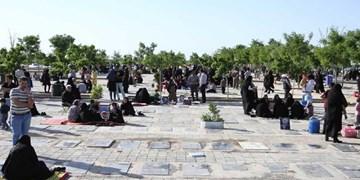 اعمال محدودیت برای تجمع در آرامستانهای اردبیل
