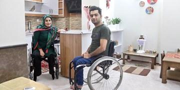 گفتوگو با یک زوج ناتوان جسمی اما ورزشکار و هنرمند/ ثابت کردیم معلولیت مانع خوشبختی نیست
