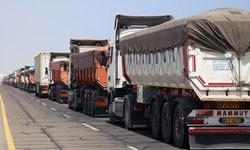 صادرات ۲۸۴ میلیون دلار کالا از مرز مهران به کشور عراق