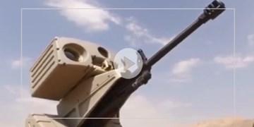 فیلمی از نحوه عملکرد تیربار کنترل از راهدور