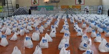 توزیع ۴۰۰ بسته معیشتی به همت بسیجیان شاهرود