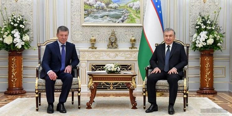 دیدار مقامات ارشد روسیه و ازبکستان در «تاشکند»