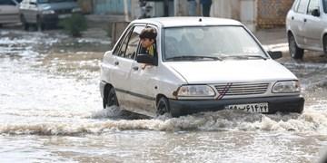 فیلم| آخرین وضعیت آبگرفتگی در بندر امام خمینی(ره)
