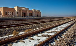 عبور آزمایشی 2 قطار باری و مسافری از خطآهن خواف-هرات/امکان انتقال زوار افغانستانی به عراق