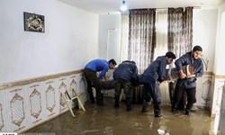 امدادرسانی ۴۷ گروه جهادی به مناطق درگیر آبگرفتگی اهواز