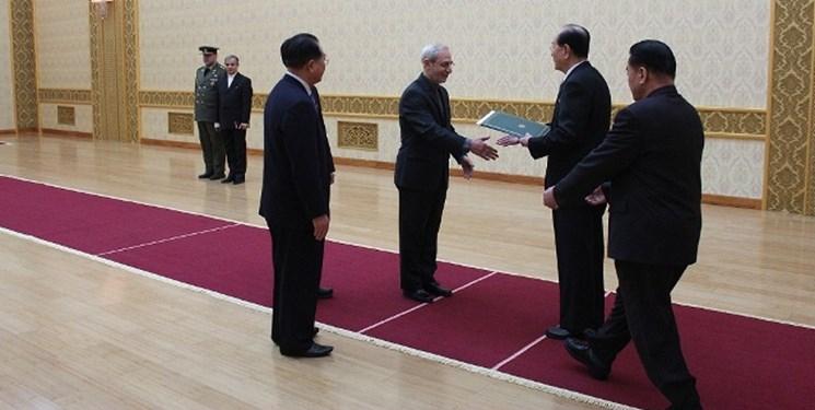 سفیر ایران و معاون وزیر خارجه کره شمالی دیدار کردند