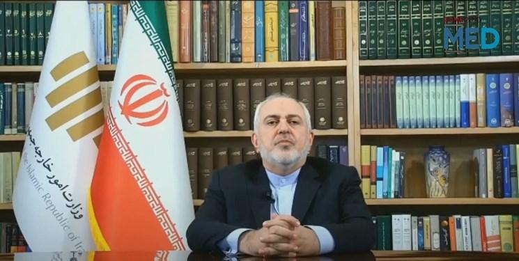 ظریف: تا زمانیکه غرب به اقدامات شرورانه در منطقه پایان ندهد باید خفه شود