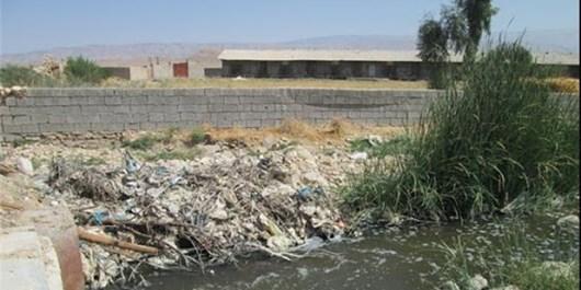 فارس من| تداخل فاضلاب صنعتی و انسانی، عامل ایجاد روانابهای بد بو در جنوب شیراز