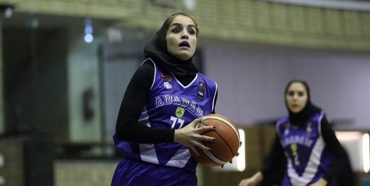 لیگ برتر بسکتبال بانوان| ادامه قدرتنمایی نفت آبادان با برتری مقابل قزوین