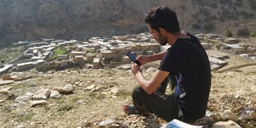 تحصیل مجازی در نوک کوه/فاجعه اینترنت و جاده در «مونه» لنده+تصاویر