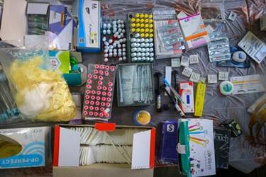 استفاده از لوازم و تجهیزات پزشکی یکبار مصرف و ضد عفونی شده برای مراجعه کنندگان
