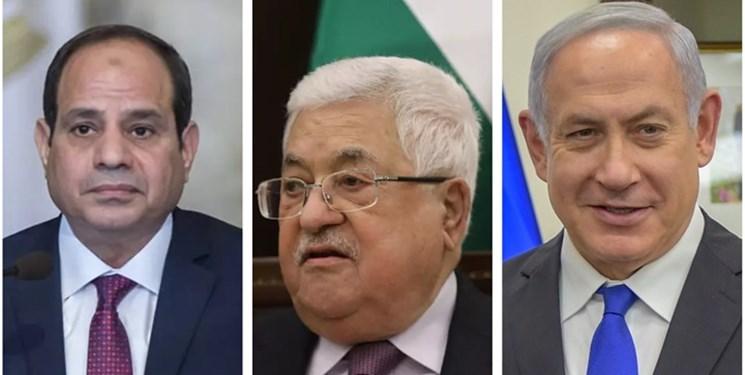 تماس «السیسی» با مقامات فلسطینی و صهیونیستی برای از سرگیری مذاکرات سازش