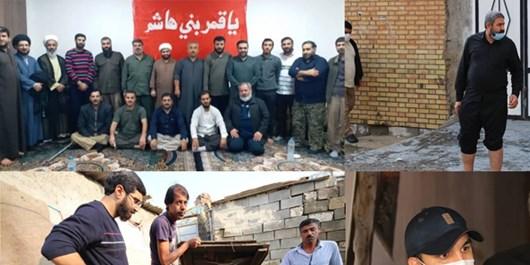 قدردانی رئیس کانون مداحان از ذاکران حاضر در فعالیتهای جهادی خوزستان