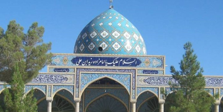 عیدی خادمان یک امامزاده به نیازمندان و باربران بازار