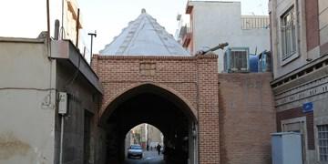 مرمت تنها چهارسوق چوبی شهر تهران