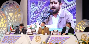 رقابت ۲۰ قاری و حافظ قرآن درشب اول مسابقات سراسری+عکس