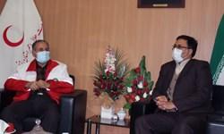 ارائه خدمات هلال احمر زنجان به  خانوادههای آسیبپذیر زندانیان