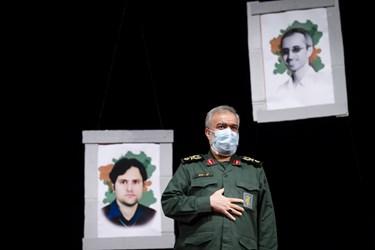 سردار علی فدوی جانشین فرمانده کل سپاه در  آیین بزرگداشت روز دانشجو در دانشگاه تهران